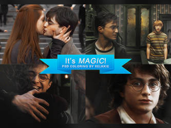 It's Magic - PSD Coloring by selkkie