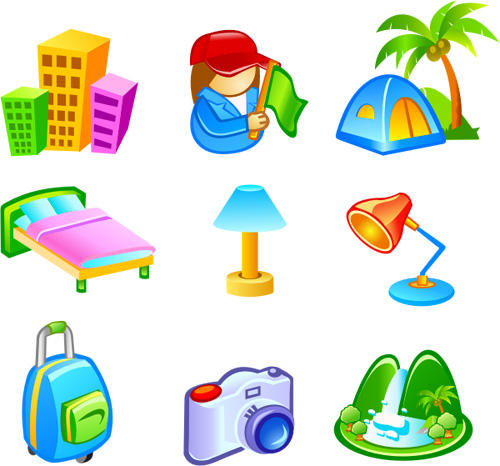 Free Vector Travel Icons by freevectordownload on DeviantArt