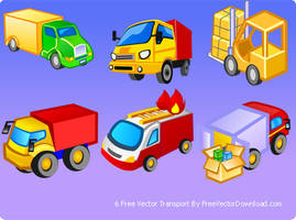 Free Vector Transport Icons