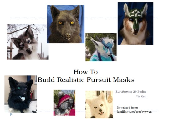 EF20 HowTo Fursuit Mask by zyxwen