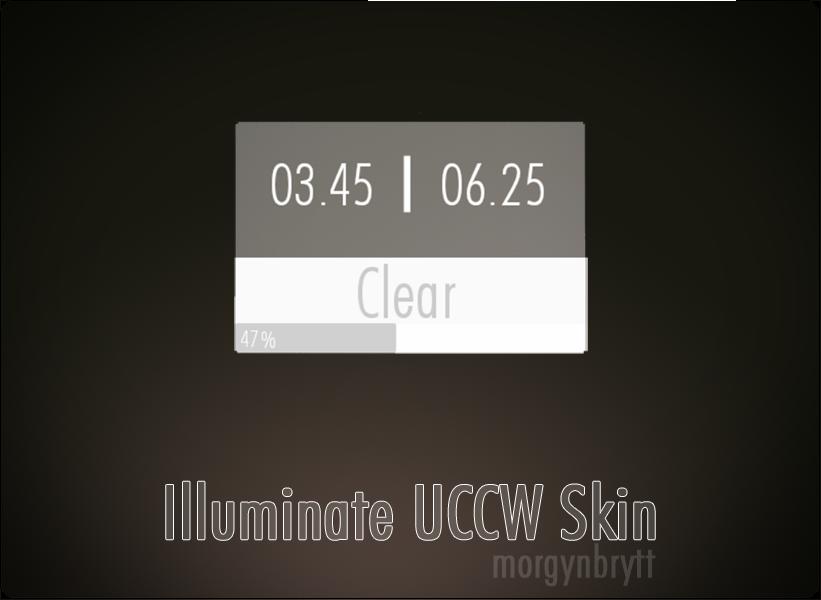 Illuminate UCCW Skin by morgynbrytt