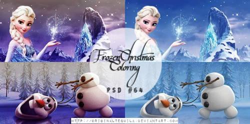Frozen PSD #64 by OriginalTequila