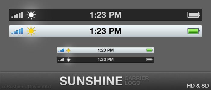 Sunshine Carrier Logo by xoRoshani