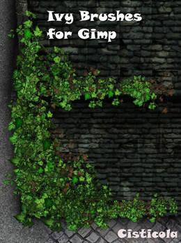 Ivy Brushes for Gimp