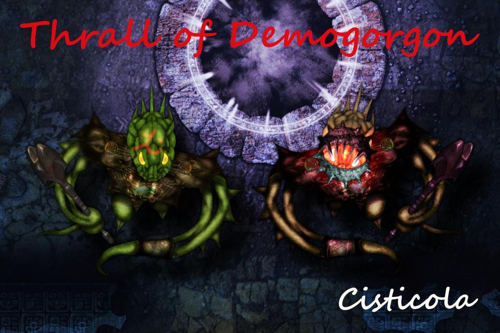 Thrall of Demogorgon by Cisticola