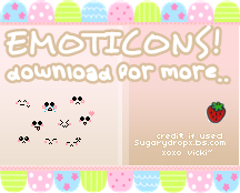 Emoticons by sugarydropx