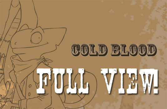 Coldblood Process Book