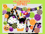 Halloween Pack - 20 PNG's
