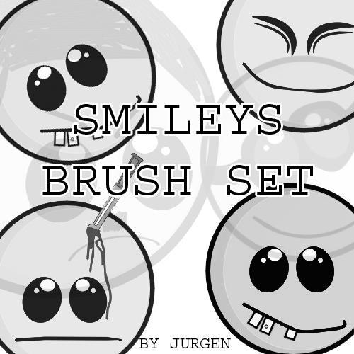 Smileys Brush Set by narvils