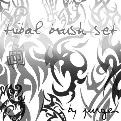 Tribal Brush Set