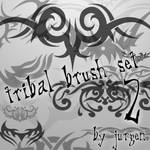 Tribal Brush Set 2