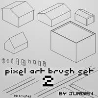 Pixel Art Brush Set 2 by narvils