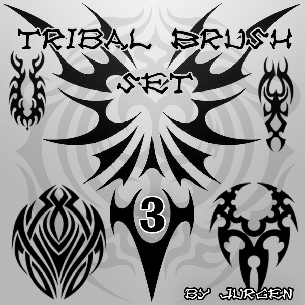 Tribal Brush Set 3