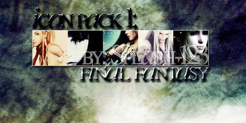 Icon Pack 1: Final Fantasy by Splash-123