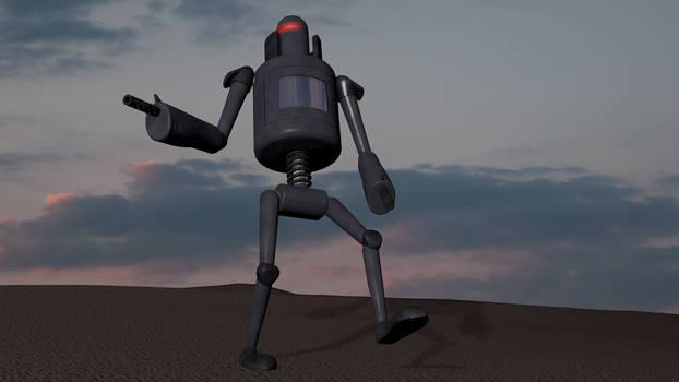 The Pixel Lab Challenge - Robot (C4D R13 Model)