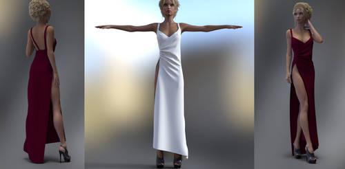 Pure Elegance Dress Marvelous Designer (updated)