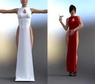 Slit Dress dforce