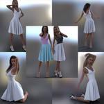 Lindsey Dress Marvelous Designer