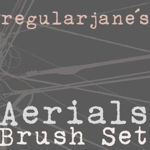 Brush Set Aerials by regularjane