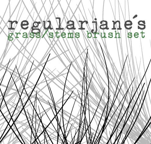 Brush Pack Grass and Stems by regularjane