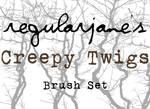 Brush Pack Creepy Twigs