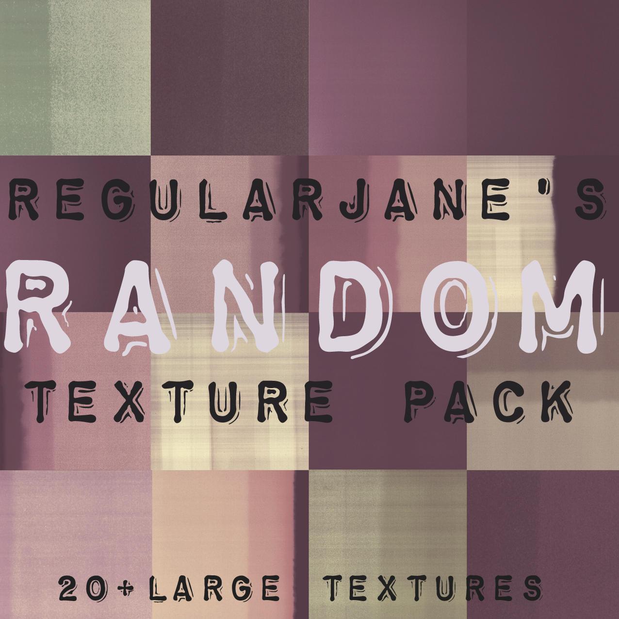 Random Texture Pack 001 by regularjane