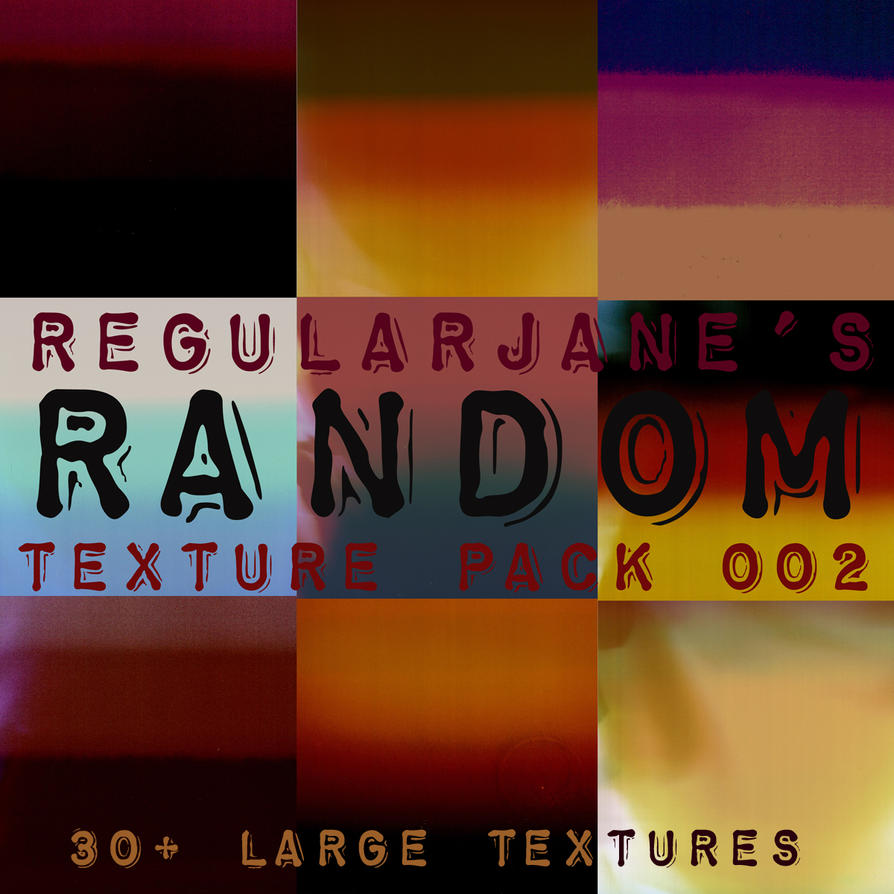 Random Texture Pack 002 by regularjane