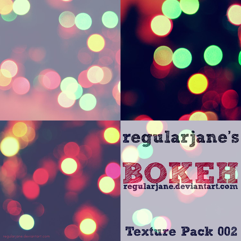 Bokeh Texture Pack 002