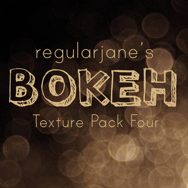 Bokeh Texture Pack 004 by regularjane
