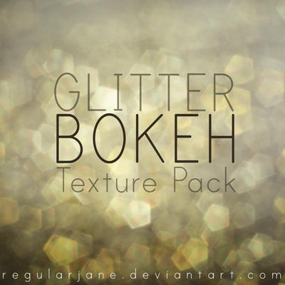 Glitter Bokeh Texture Pack by regularjane