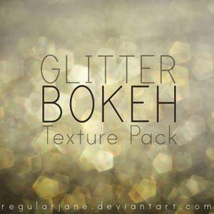 Glitter Bokeh Texture Pack