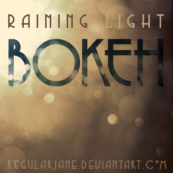 Raining Light Bokeh Pack