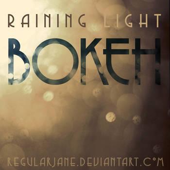 Raining Light Bokeh Pack by regularjane