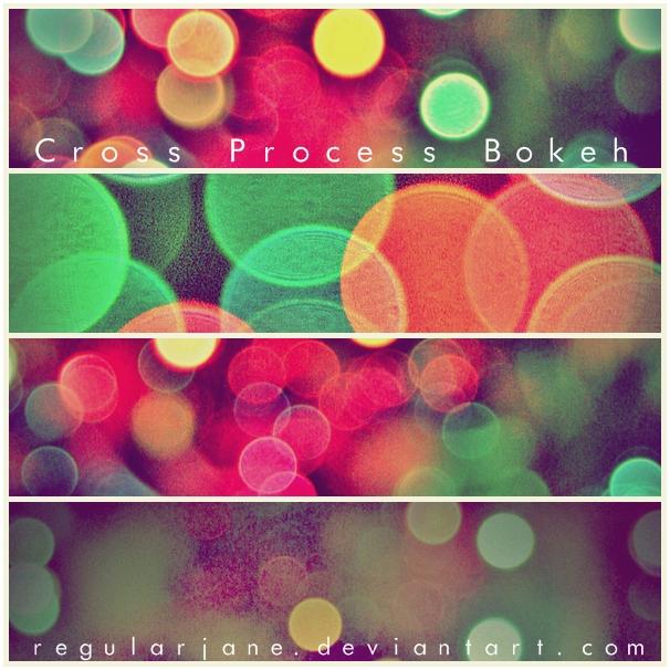Cross Process Bokeh Textures