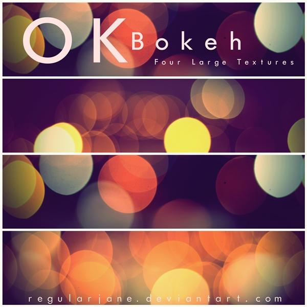 OK Bokeh Textures by regularjane