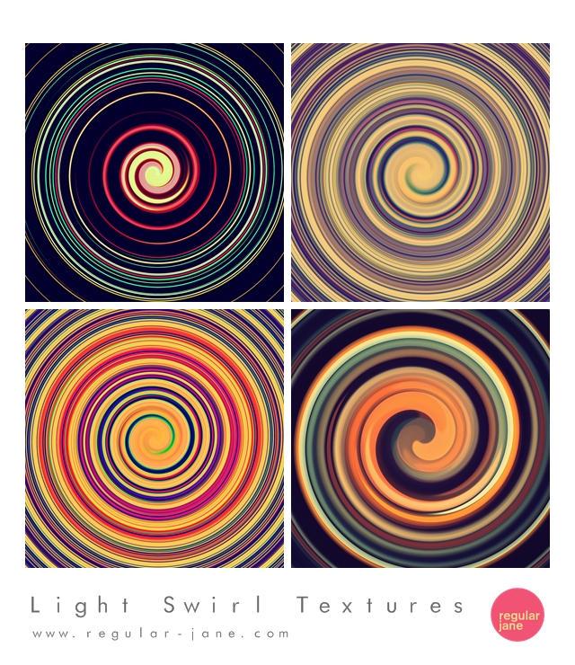 Light Swirl Textures by regularjane