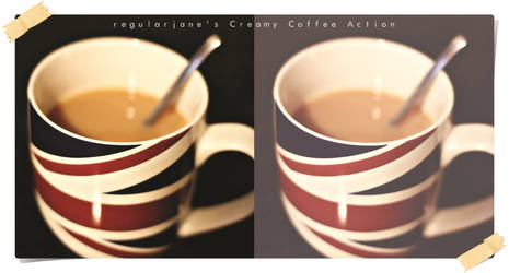 Creamy Coffee Photoshop Action