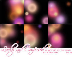 Lovely and Confused TextureSet by SoWicked