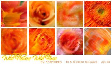 WildFlower WildFire TextureSet