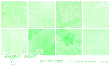 Bosque Verde TextureSet by SoWicked