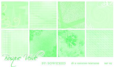 Bosque Verde TextureSet