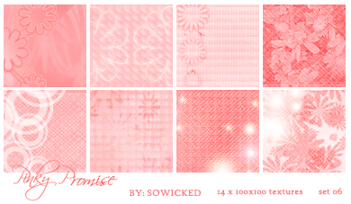 Pinky Promise TextureSet by SoWicked