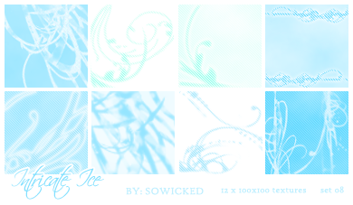 Intricate Ice TextureSet by SoWicked