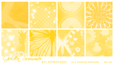 Golden Summer TextureSet by SoWicked