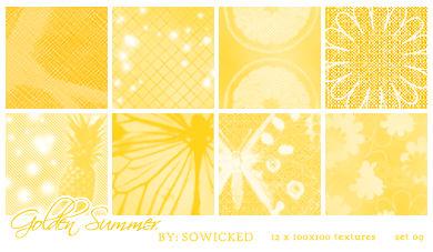 Golden Summer TextureSet