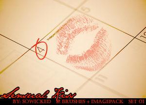 Sensual Kiss PS Brushes