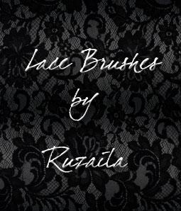 Lace Brushes by Ruzaila