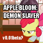 Apple Bloom Demon Slayer
