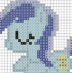 Sleeping Colgate Cross Stitch Chart
