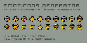 Emoticons Generator by djgruny
